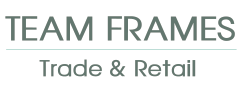 Team Frames Trade & Retail Logo