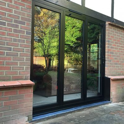 Black Bifold Doors