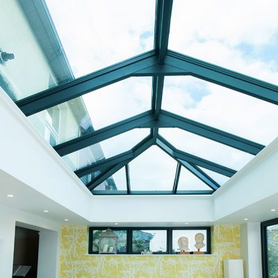 Anthracite Grey Orangery Roof