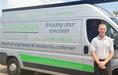 Team Frames Trade Senior Fitter