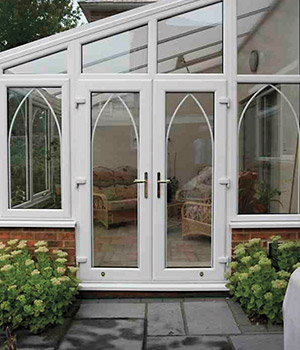 French doors in the Southern Counties