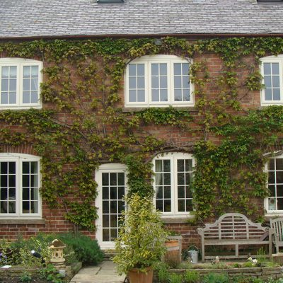 Cream Casement Windows with astragal bars
