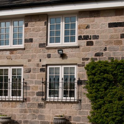 Casement Windows with Astragal Bars