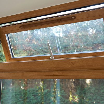 Flush Sash Window Interior