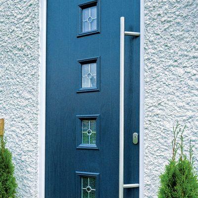 Dark Blue Premium Composite Door