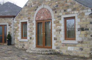 Golden-Oak-french-door