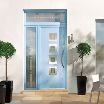Light Blue Premium Composite Door