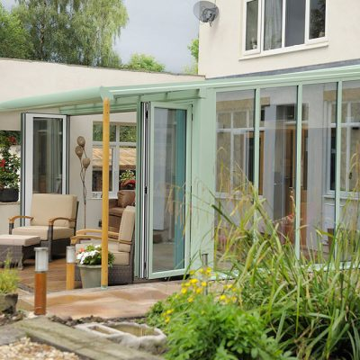 Chartwell Green Lean-to Conservatory