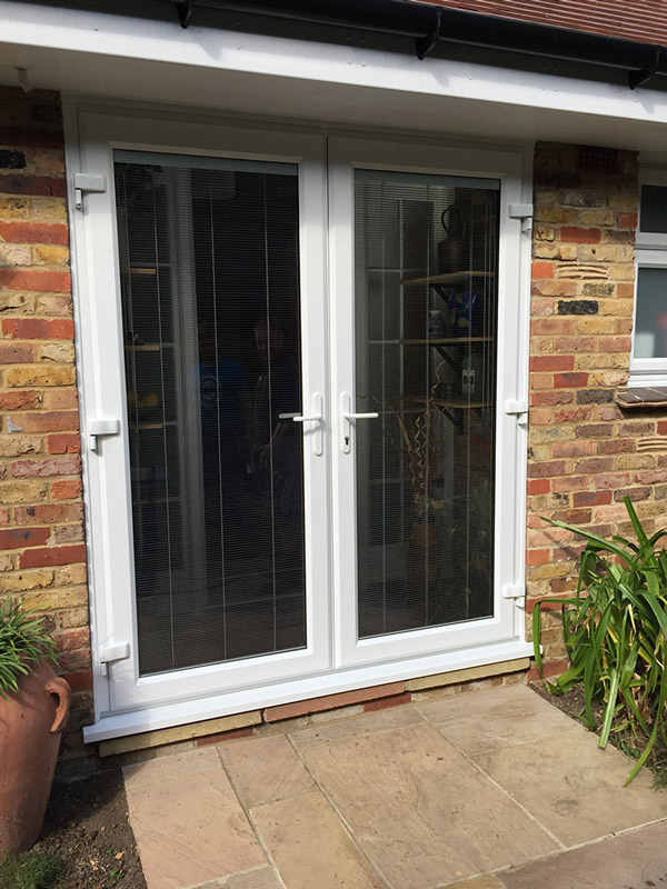 French doors double glazed doors godstone surrey free quotes for How to install upvc french doors exterior