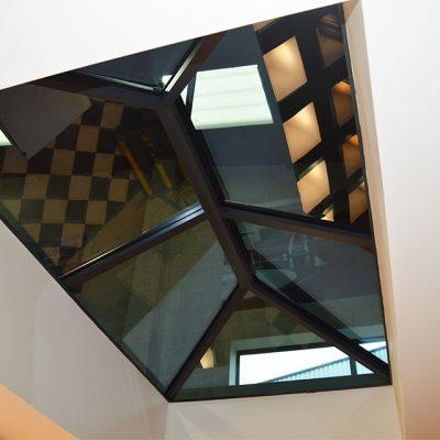 Lantern Roof Interior