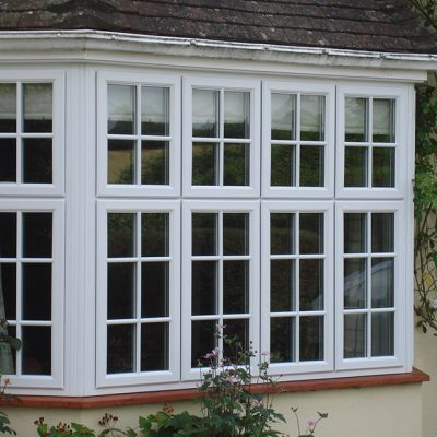 White Casement Windows in the South East