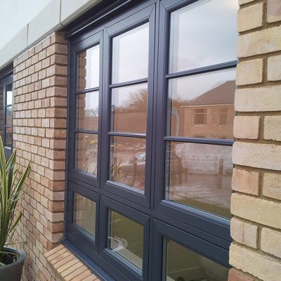 Anthracite Grey Flush Sash Windows